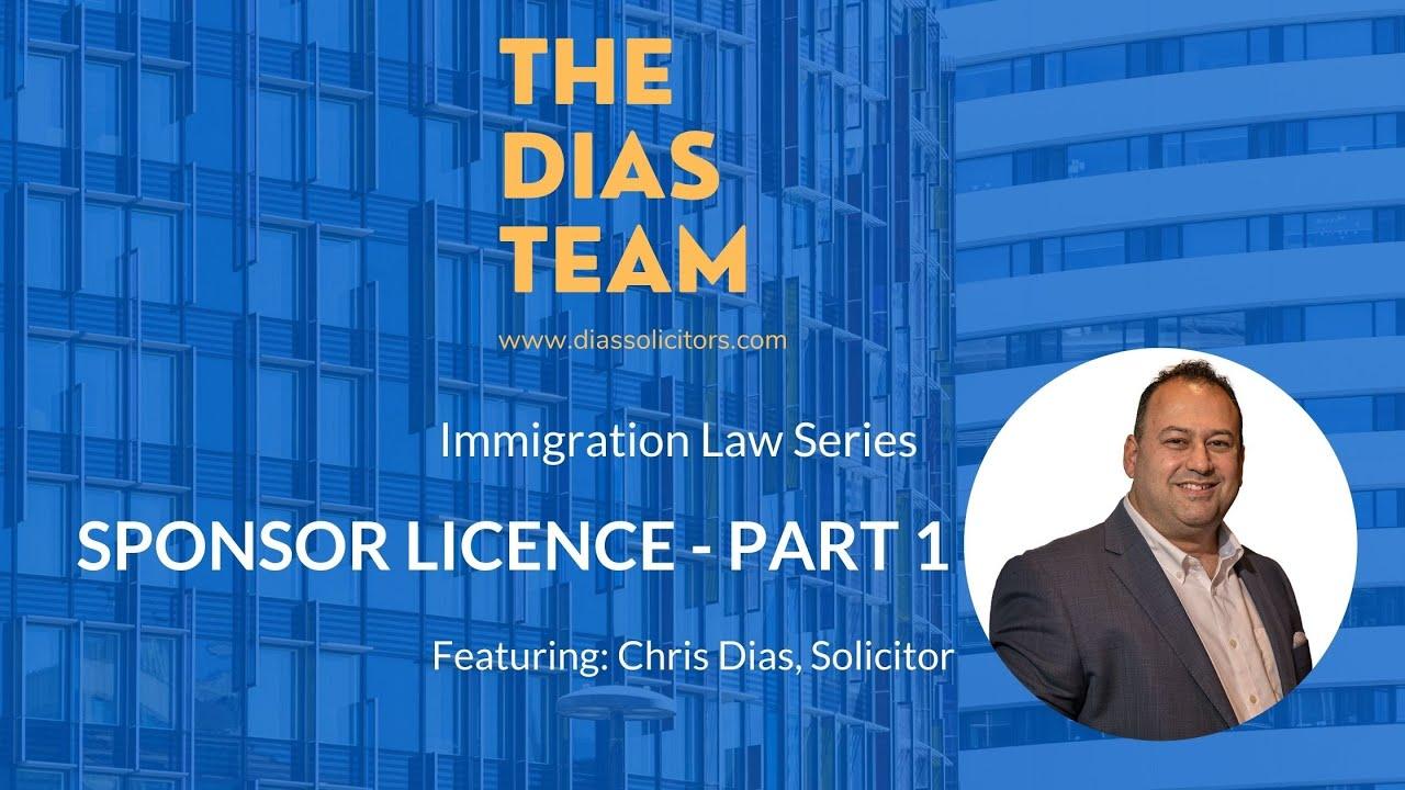 Sponsor Licence Part 1