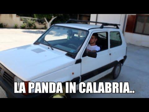 LA PANDA in Calabria...