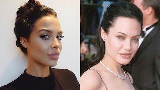 Meet Mara Teigen, Angelina Jolie Lookalike Model