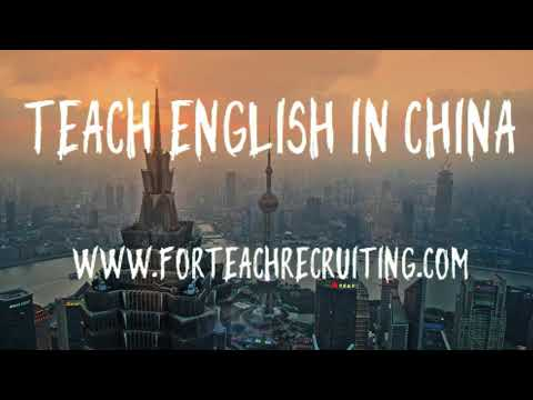 Start your Next Adventure - Teach English in China