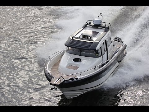 ARCTIC Commuter 25 | Sea Trial | Saltwater Yachts