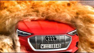 ЭЛЕКТРО⚡УДАР от AUDI ! Первый тест: 408 л.с. e-tron 55 quattro. Чем теперь ответит BMW и Mercedes?