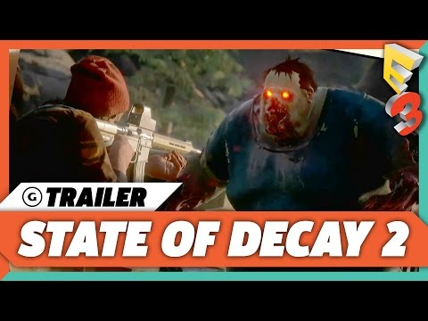 State of Decay 2 Gameplay Trailer E3 2017 World Premiere  | Microsoft Press Conference