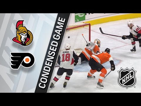 02/03/18 Condensed Game: Senators @ Flyers
