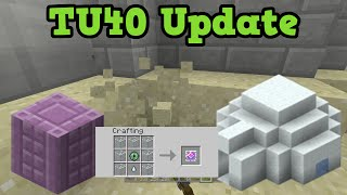 Minecraft Xbox 360 / PS3 TU39 / TU40 Update - 1.9 With New Features