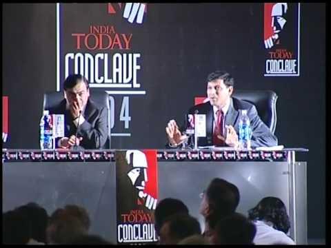 India Today Conclave: Q&A With Mukesh Ambani & Raghuram Rajan