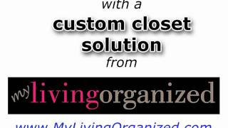Custom Closet Toronto| (647) 295-9457 Mylivingorganized.com | Walk-in Closet Christmas Special