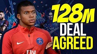 BREAKING: PSG Agree £128M Deal For Kylian Mbappe!  | Transfer Talk