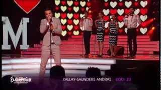 My Baby (Kállay Saunders András) - Kállay-Saunders András - A Dal 2013 MTVA