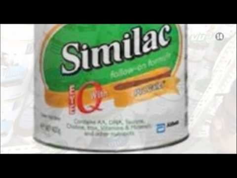 VTC14_Thu hồi 10 lô sữa bột Similac GainPlus cho trẻ 1-3 tuổi