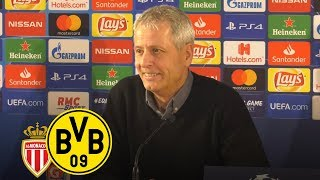GRUPPENSIEGER in der Champions League! |PK mit Lucien Favre | AS Monaco - BVB 0:2