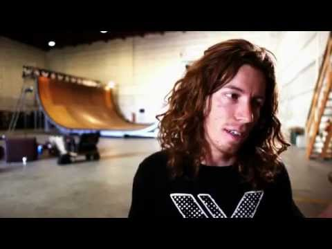 Shaun White Half Pipe Skate Session & Tony Hawk