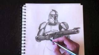 Drawing a Clone Trooper with Paolo Morrone