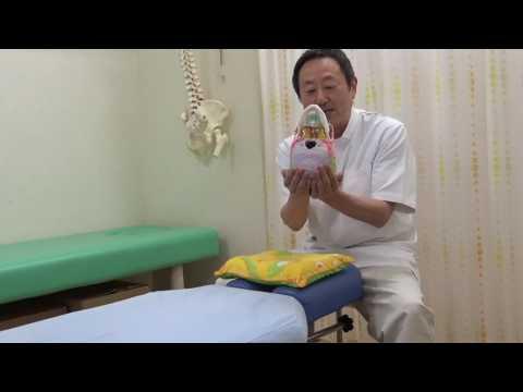 頭蓋骨テクニック(CRI)の動画