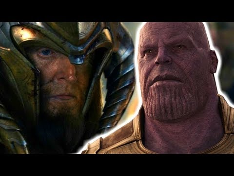 Thor's Grandfather Deleted Scene Explained - Infinity War Explained