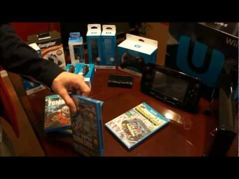 Wii U Deluxe Unboxing (Black Edition)...