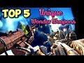 TOP 5 MOST UNIQUE WONDER WEAPONS IN COD ZOMBIES HISTORY! - Call of Duty Zombies Top 5 List