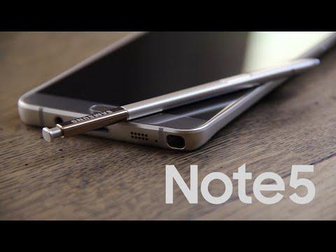 Samsung Galaxy Note 5 icmalı