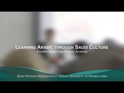 Learning Arabic through Saudi Culture