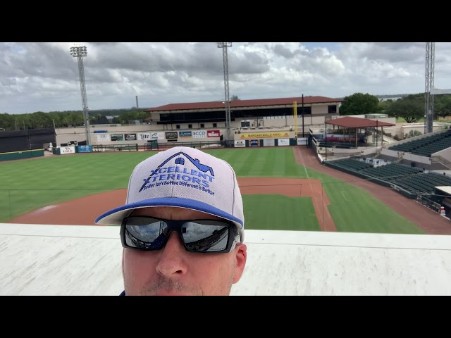 Xcellent Xteriors just washed the roofs at Joker Marchant Stadium 🏟