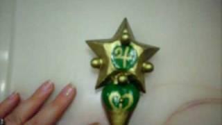 Sailor Moon: Jupiter Star Power, Make Up! transformation wand for cosplay