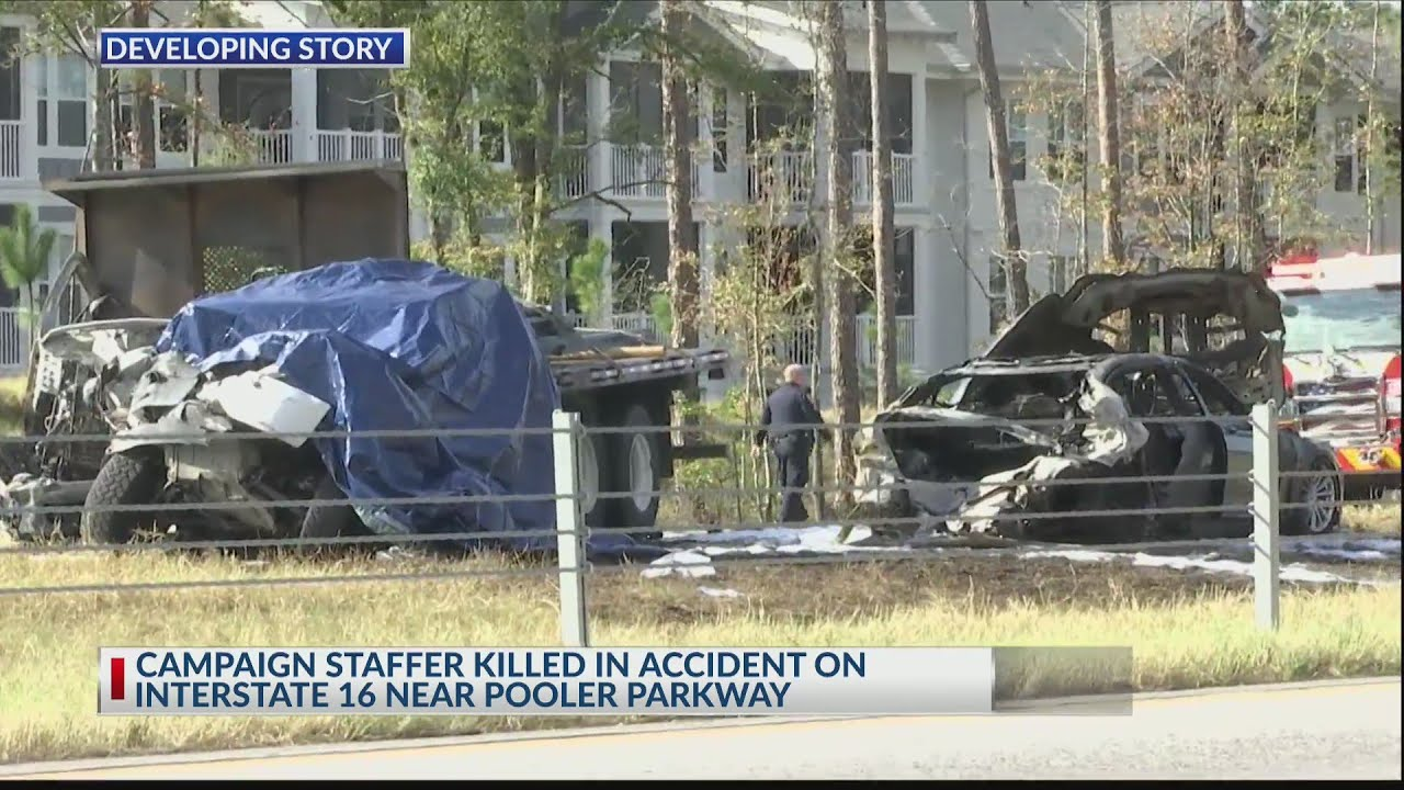 UPDATE: Loeffler campaign staffer identified as Pooler crash victim