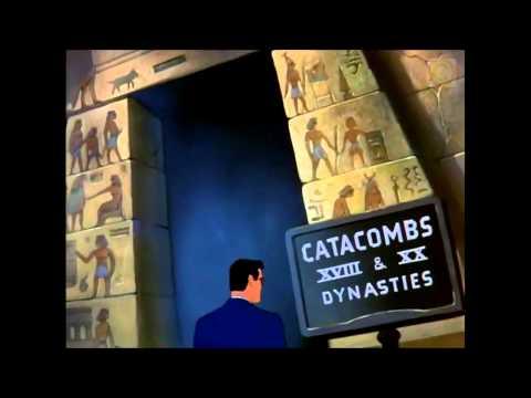Superman - The Mummy Strikes (full length cartoon) HD KidsCartoonsOnline