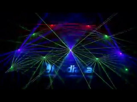 DJ davepaulmiller@ leeds  mature techno house with full animated laser lightshow mixed 5:12:15 :-)