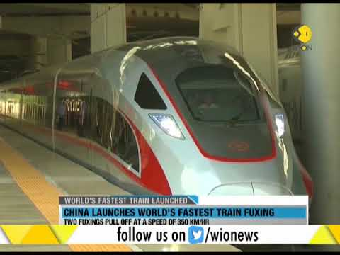 WION Wallet: China launches world's fastest train Fuxing
