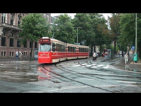 Trams in Den Haag / The Hague