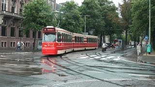 Trams in Den Haag / The Hague