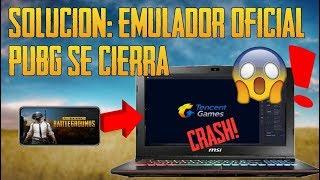 Solución: el emulador oficial de PUBG Mobile se cierra al cargar el juego