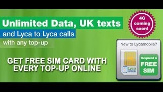 How to Buy Lyca Mobile Pay As You Go SIM Online