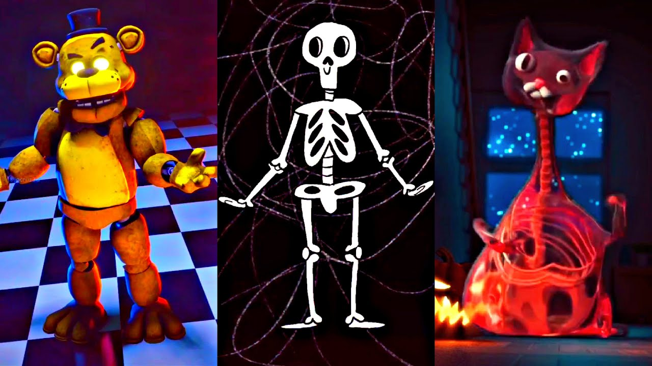 Best Halloween 2021 TikTok Challenge   Spooky Scary Skeletons Tik Tok Dance