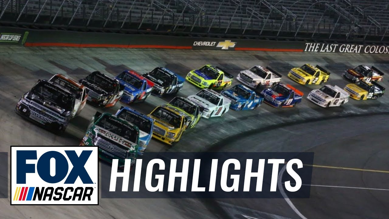 UNOH 200 at Bristol | NASCAR on FOX HIGHLIGHTS