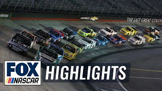UNOH 200 at Bristol | NASCAR on FOX HIGHLIGHTS