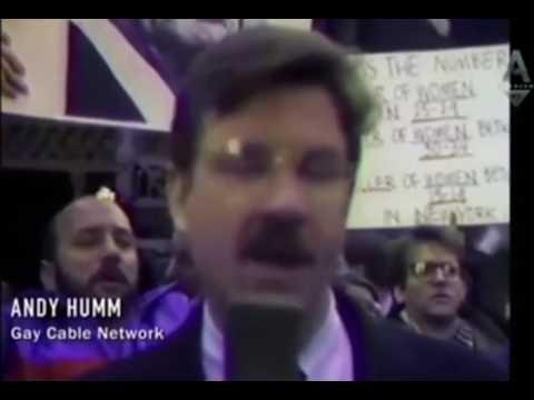 Larry Kramer FDA Protest