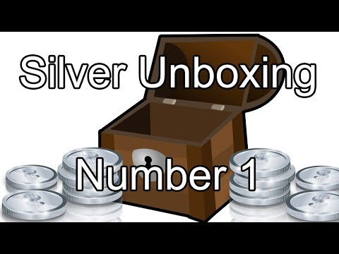 Silver Bullion Unboxing 1