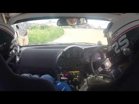 S.Zenonos-A.Chrysostomou SS2: Ayios Kendeas - East Safari Rally 2015 - Mitsubishi Lancer Evolution 6