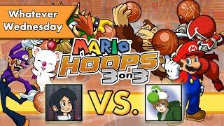 Mario Hoops 3-on-3 - Multiplayer Match! Yoshiller vs. Jetz!