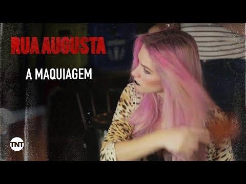 Rua #AugustaTNT | A maquiagem