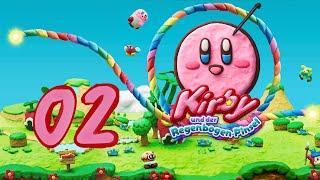Kirby und der Regenbogen-Pinsel #2 - Rauf auf den ollen Baum!