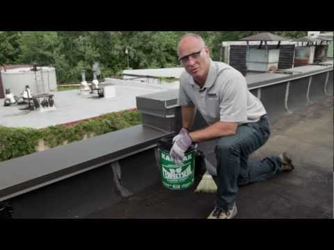 how-to-repair-flat-roof-leaks-inexpensively-with-18-flashing-cement---karnak