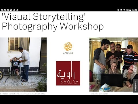 Storytelling Photography Workshop in Gaza