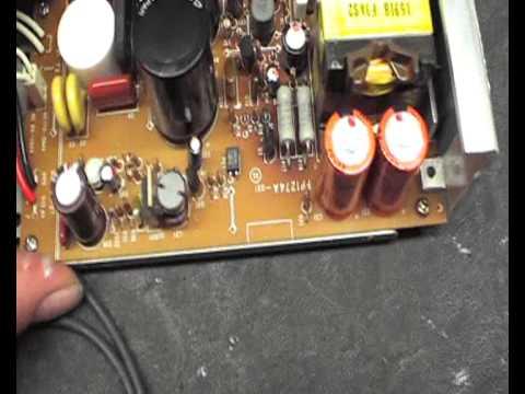 Yaesu FT-736R HAM Radio PSU Repair M0XFX