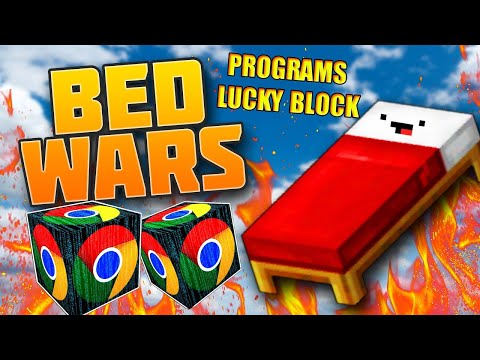 MINI GAME : PROGRAMS LUCKY BLOCK BEDWARS** BEDWARS VỚI LUCKY BLOCK VIP CÙNG NOOB TEAM