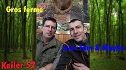 | CHASSE en Haute Marne gros ferme sangliers | Battue au bois | 2019