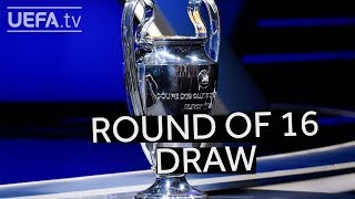 2018/19 UEFA Champions League round of 16 draw