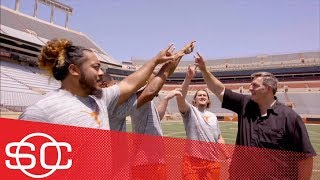 Texas Longhorns' O-line front and center for 2018 college football season | SportsCenter | ESPN
