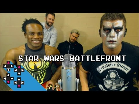 Star Wars Battlefront Beta with Stardust a.k.a. TBD — Superstar Savepoint (UpUpDownDown)